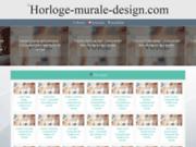 screenshot http://www.horloge-murale-design.com/ Horloge murale