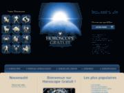 screenshot http://www.horoscope-gratuit.ca horoscope