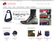 screenshot http://www.horse-planet.fr matériel équitation, equipement cavalier homme, femme, enfant, sellerie, mors équitation