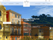 screenshot http://hotel-carlton-nice.com hotel carlton nice