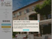 screenshot http://www.hotel-castelet-alpilles.com/ Hôtel à Saint Rémy de Provence au coeur des Alpilles.