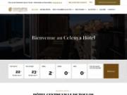 screenshot http://www.hotel-celenya-toulon.com hôtel celenya toulon - hotel à toulon, réservation chambre d'hotel à toulon, provence côte d'azur