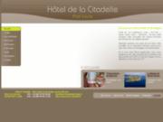 screenshot http://www.hotel-citadelle.fr hôtel en bord de mer en bretagne
