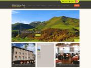 screenshot http://www.hotel-delapaix.net/ hotel restaurant auvergne : hôtel de la paix