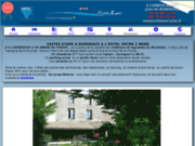 screenshot http://www.hotel-e2m.fr/ hotel l'entre 2 mers
