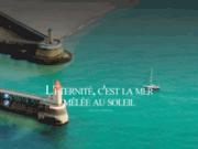 screenshot http://www.hotel-grand-pavois.com/ Hôtel à Fécamp