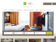 screenshot http://www.hotel-ibiscentral-dijon.com/ hôtel restaurant dijon centre
