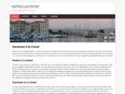 screenshot http://www.hotel-la-ciotat.com hôtel restaurant à la ciotat