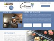 screenshot http://www.hotel-laferme-avignon.com restaurant avignon