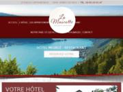 screenshot http://www.hotel-lamascotte-annecy.com restaurant à annecy le vieux 74