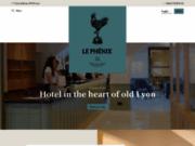 screenshot http://www.hotel-phenix-lyon.fr le phénix hôtel