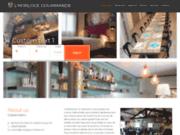 screenshot http://www.hotel-restaurant-horlogegourmande.com/ découvrez la gastronomie, la drôme et de l'ardèche