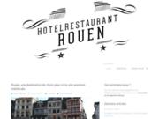 screenshot http://www.hotel-restaurant-rouen.fr hôtel restaurant normandie , rouen ,76