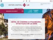 screenshot http://www.hotel-strasbourg.com/ Hôtel à Strasbourg