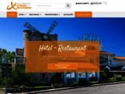 screenshot http://www.hotel-volvic.net hôtel restaurant le moulin des gardelles