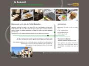 screenshot http://hotelballadins-geneve.com hôtel restaurant balladins pays de gex