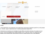 screenshot http://www.hotelbristol-lepuy.com/ inter-hôtel Bristol
