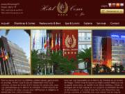 screenshot http://www.hotelcesarmorocco.com hotel a tanger maroc