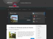 screenshot http://www.hoteldecharme.fr hôtel de charme en france
