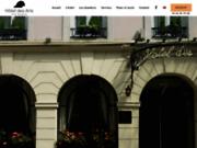 screenshot http://www.hoteldesarts.fr/ hotel des arts, hôtel 2 étoiles, réservation hotel paris 75009, 9ème
