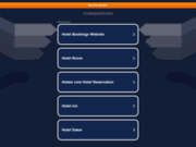 screenshot http://www.hoteldjoloff.com hôtel au charme raffiné à dakar