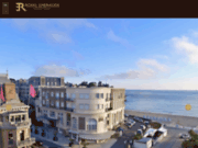 screenshot http://www.hotelemeraudeplage.com/ dinard hotel emeraude plage