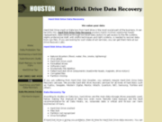 Houston Data Recovery-Hard Disk Drive Disaster Rec