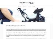Pour une utilisation plus aisée du hoverboard