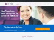 screenshot http://www.hrpro-tn.com centre
