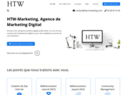 screenshot https://htw-marketing.com HTW-Marketing