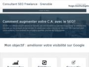 screenshot http://www.hug0b.fr Référencement SEO