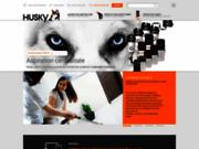 screenshot http://www.huskyfrance.com/ Aspirateurs centralisés Husky