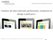 screenshot http://www.hybridcreation.com graphiste freelance lille nord