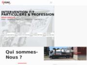screenshot http://hydre-assainissement.com/ Problème de canalisation