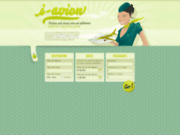 screenshot http://www.i-avion.com trouver un vol pas cher