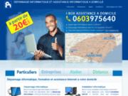 Assistance informatique à domicile et entreprises