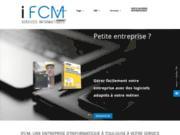 screenshot http://www.i-fcm.com/ entreprise d'informatique à Toulouse