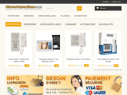 screenshot http://www.ib-webachat.com ib internet boutique : videosurveillance alarme ...