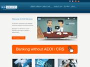 screenshot http://www.icoservices.com Création de sociétés offshore