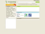 screenshot http://www.icouponing.com icouponing : coupon de réduction éléctronique.