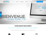 screenshot http://idactiv.com/ iDactiv  Agence web Offshore Paris, Genève, Tunisie