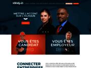 screenshot http://www.ideal-job.fr offres d'emploi et recrutement dans le Nord et en Belgique