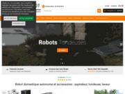 Robots domestiques pas cher en ligne - Aspirateur, laveur et tondeuse