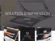 screenshot http://www.idfcom.fr photocopieurs avec idf communication