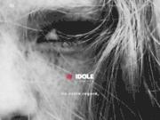 screenshot http://www.idole.net creation site web