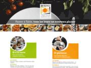 screenshot http://www.idrepas.com id repas : traiteur, livraison plateaux-repas,entreprises et particuliers à rodez, aveyron.