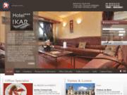 screenshot http://www.ikarhotel-blois.com/ Hôtel Ikar