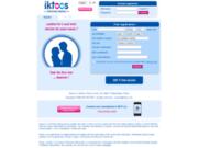 screenshot http://www.iktoos.com iktoos.com : site de rencontre chrétien