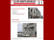 screenshot http://www.illico-monte-meubles.com monte meubles services