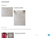 screenshot http://www.ilovetricot.fr/ i love tricot : kit tricot femme homme et enfant